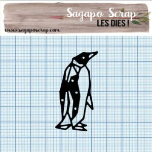 Die Sagapo Scrap pingouin collection 7
