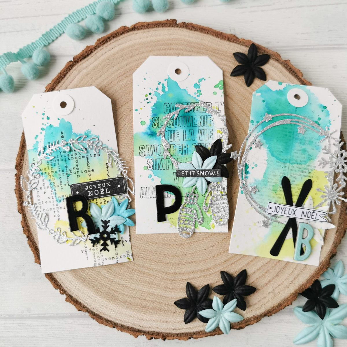 scrapbooking tag couronne