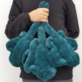 raie doudou, poisson tissu, raie textile, doudou poisson