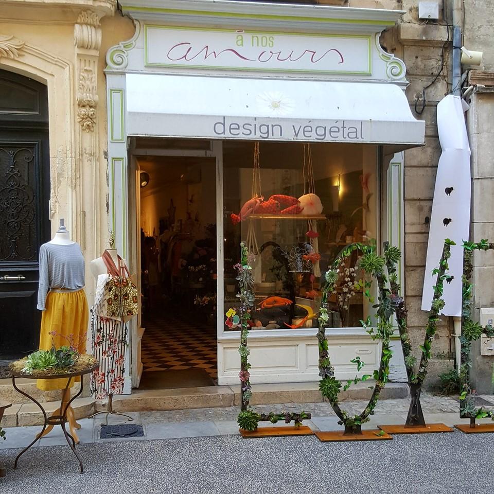 Avignon, fleuriste, a nos amours, Design Végétal