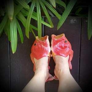 Mes chaussons Thai.