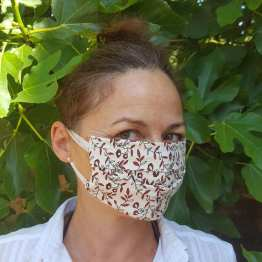 masque-plié-femme-ado-petites-fleurs-rouges-et-noires-réversible-et-bicolore