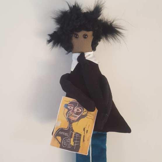 Basquiat, poupée pièce unique