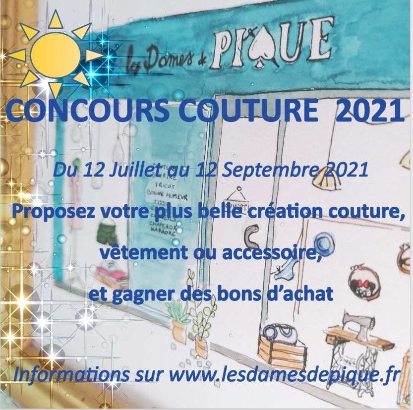 concours couture ETE 2021