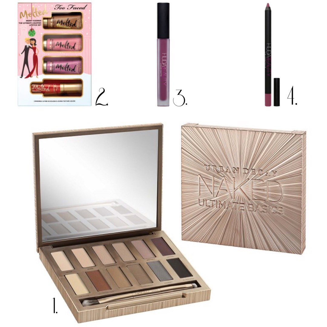 Wishlist 2016 beauté urban decay too faced huda beauty