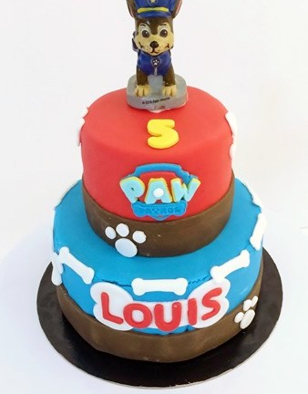 Le Cake Design : Pat Patrouille