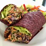 4 recettes de wraps vegan chez Nini à Entrevaux