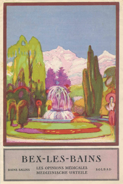 Dépliant, Bex-les-Bains, les opinions médicales