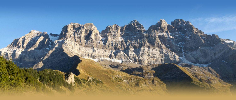 Profil géologique des Dents du Midi