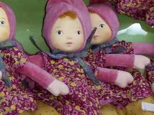 Petit Chose - Mill roots - Poupées en chiffon et caoutchouc - Blog les désirs d'Elisa