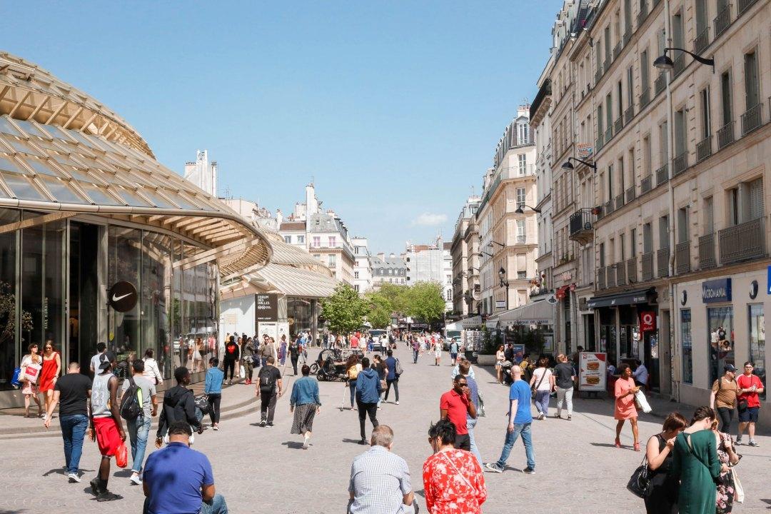 Châtelet Les Halles, en plein coeur de Paris - lesdeuxchouettes.fr