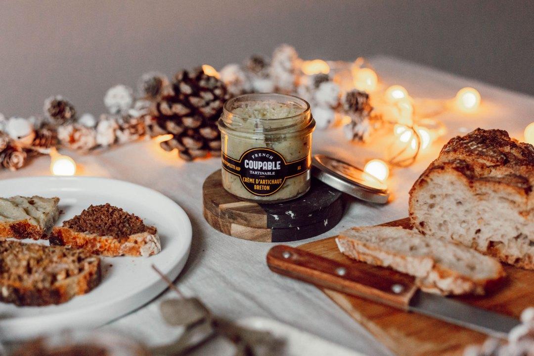 Crème d'artichaut breton - Les Deux Chouettes