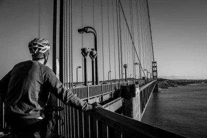 Andres sur le Golden Gate