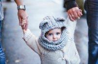 Version mini du foulard/capuchon avec oreilles, ADORABLE.