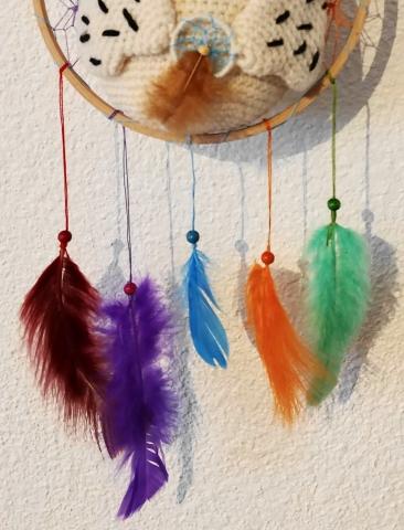 plumes attrape-rêves