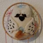 amigurumi hibou attrape-rêves
