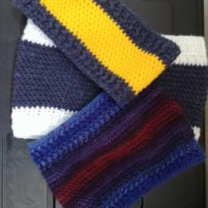 crochet snood herringbone stitch