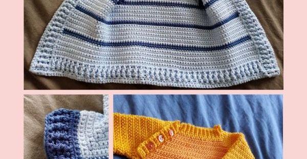 épingle pinterest pull et veste bébé