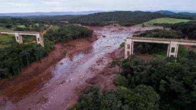 Photo de Rupture d'un barrage au Brésil : Neuf morts, environ 300 disparus