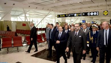 Photo de Le roi inaugure le nouveau Terminal 1 de l'aéroport Mohammed V de Casablanca