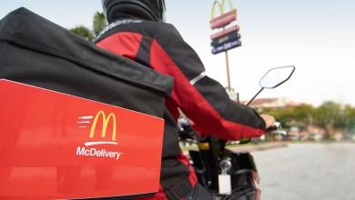 Photo de McDonald's lance le McDelivery