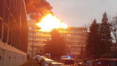 Photo de Lyon : Trois blessés lors de l'explosion du campus de la Doua