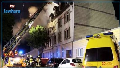 Photo de Allemagne : Cinq morts dans l'incendie d'un appartement