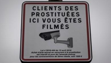Photo de France : 1.500 à 3.750 euros d'amende pour les clients des prostituées