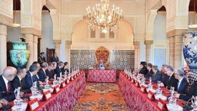 Photo de Le roi préside un conseil des ministres à Marrakech