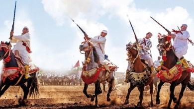 Photo de «La Tbourida», candidate au patrimoine de l'UNESCO