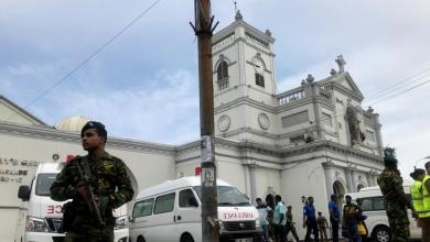 Photo de Attentats au Sri Lanka. Le gouvernement accuse un mouvement islamiste local