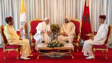 Photo de Visite papale au Maroc : 300 correspondants étrangers ont couvert l'événement