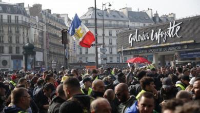 Photo de France. Les manifestations du 1er mai placées sous haute surveillance policière