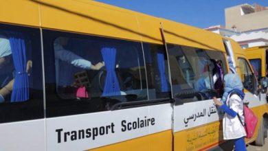 Photo de Lutte contre la déperdition scolaire. Mise en place de 11 bus de transport scolaire à Taza