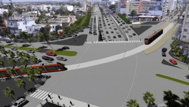 Photo de Casablanca. Risque de circulation perturbée dès juin prochain dans certaines zones