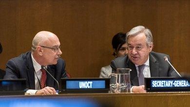 Photo de ONU. Lancement d'un programme de lutte contre les déplacements des terroristes