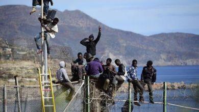 Photo de 150 Subsahariens secours par la Marine royale au détroit de Gibraltar
