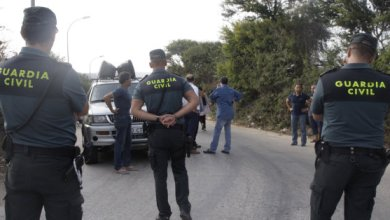 Photo de Trois migrants arrêtés à la frontière maroco-espagnole