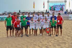 Photo de Jeux Africains de Plage. Le Maroc décroche l'argent sur le beach-soccer