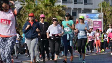 Photo de Casablanca. Première course féminine nocturne en soutien aux enfants atteints de leucémie