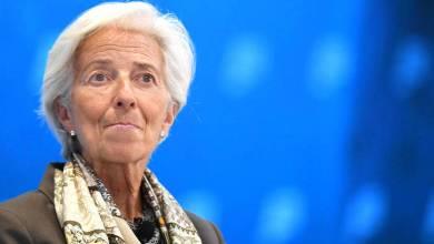 Photo de Christine Lagarde à la tête de la BCE