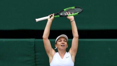 Photo de La roumaine Simona Halep remporte Wimbledon