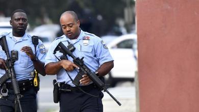 Photo de Fusillade en Philadelphie. Six policiers blessés