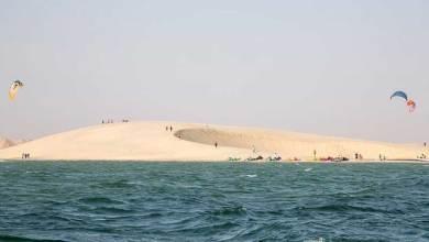 Photo de Kitsurf. Lancement de la 5ème édition de «Dakhla Downwind Challenge»