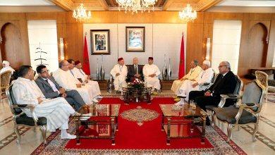 Photo de Arrivée à Jeddah de la délégation officielle des pèlerins marocains