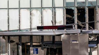 Photo de Explosion dans un bureau des impôts à Copenhague
