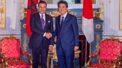 Photo de Le Prince Moulay Rachid s'entretient à Tokyo avec le Premier ministre japonais