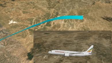 Photo de Le crash d'Ethiopian Airlines reconstitué en 3D
