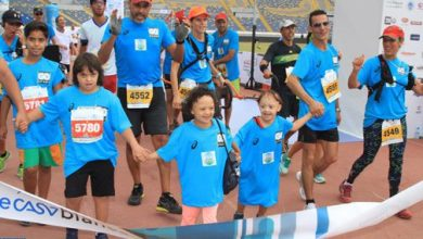 Photo de 5500 coureurs au 12ème Marathon International de Casablanca