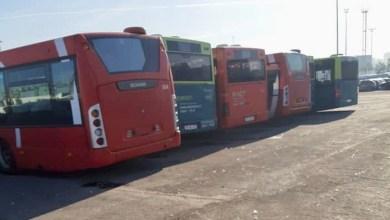Photo de Photos. Casablanca importe (chèrement) des bus italiens d'occasion